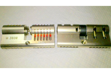 Lock picking tool for cylinders Mul-T-lock